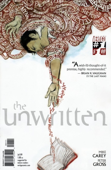 Unwritten-Mike-Carey-Peter-Gross-DC-Vertigo