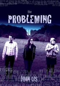 THE PROBLEMING purple poster