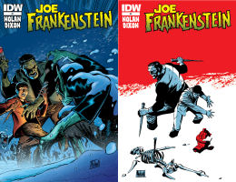 Joe Frankenstein #1 & #2