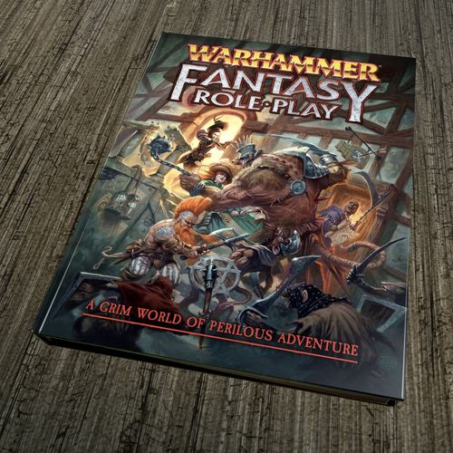 Warhammer Fantasy RPG 4th Edition  Book review   The British