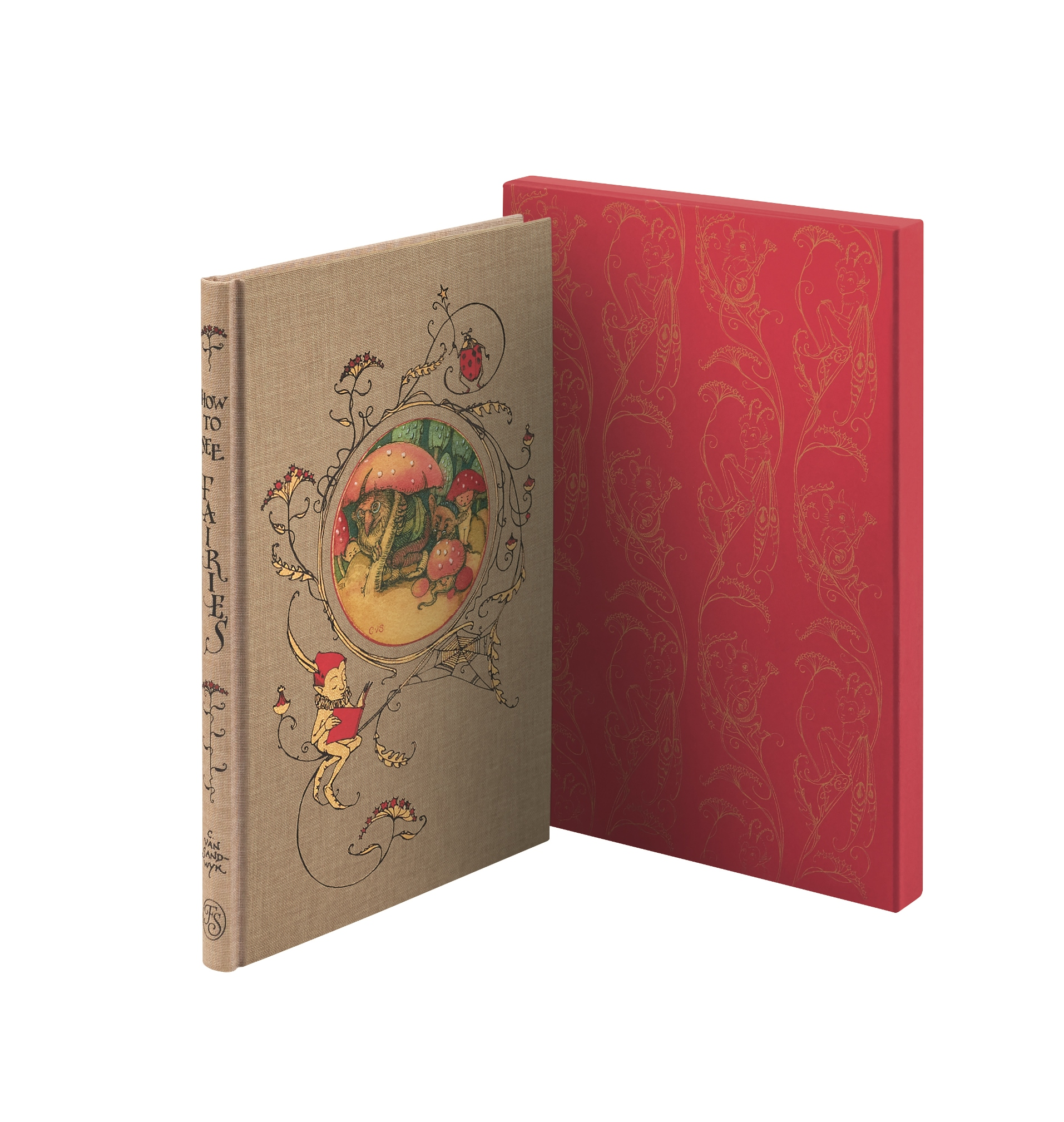How To See Fairies cover and slipcase
